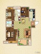 荣盛鹭岛荣府3室2厅2卫98平方米户型图