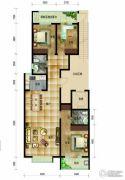 帝王国际3室2厅2卫137平方米户型图