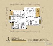 江都栋缤3室2厅2卫106平方米户型图