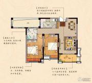 鹏欣瑞都 高层2室2厅1卫92平方米户型图