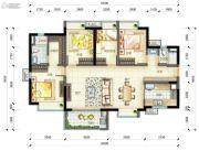 万科云城4室2厅2卫0平方米户型图