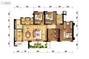 花样年家天下4室2厅2卫0平方米户型图