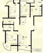 星河御城3室2厅2卫140平方米户型图