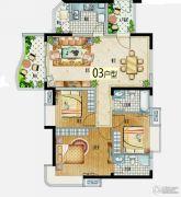益华・山海郡3室2厅2卫100--110平方米户型图