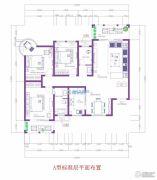 逸品蓝山3室2厅2卫140平方米户型图