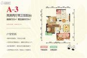 桂湖名城2室2厅2卫92平方米户型图