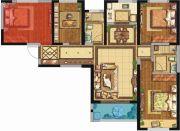 荣民宫园学府4室2厅2卫111平方米户型图