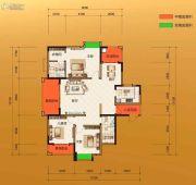 金源华府3室2厅2卫130--149平方米户型图
