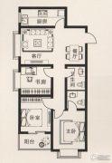 宝盛花语城3室2厅2卫113平方米户型图