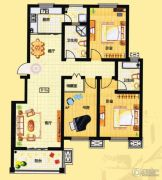 融通香槟小镇3室2厅2卫0平方米户型图
