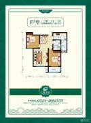 乾盛・慧泽园3室1厅1卫0平方米户型图