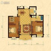 巴黎都市3室2厅1卫108平方米户型图