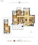 望江台・�Z宸0室0厅0卫452平方米户型图