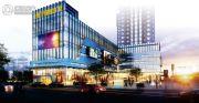 月新商业广场效果图