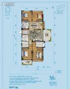佳源湘湖印象4室2厅3卫156平方米户型图