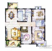摩卡小城3室2厅2卫0平方米户型图