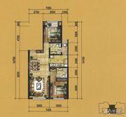 实力壹方城2室2厅2卫85--114平方米户型图