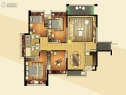 江门奥园广场3室2厅2卫140平方米户型图