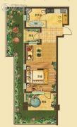 原乡奥地利1室1厅1卫56平方米户型图
