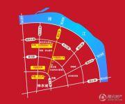 华晨国际广场交通图