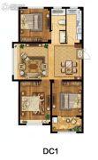 美麟・常青藤3室2厅1卫119--120平方米户型图