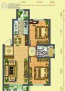 假日欧洲2室2厅1卫78平方米户型图