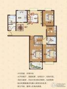 中瓯名城4室2厅2卫150平方米户型图