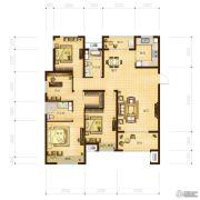 林立欣园3室2厅2卫139平方米户型图