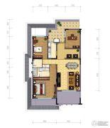 天山��玺3室3厅2卫0平方米户型图