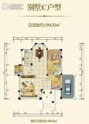 华辉滨江花城1室1厅0卫0平方米户型图
