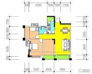 金癸领海郡3室2厅1卫86平方米户型图