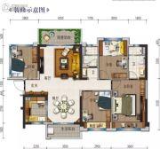 钦州碧桂园4室2厅2卫111平方米户型图