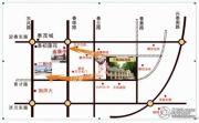 万泰国际花园 别墅交通图