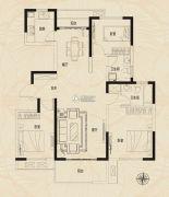 建业新城3室2厅2卫0平方米户型图
