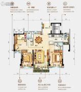 台山碧桂园盛世华府3室2厅2卫106平方米户型图