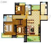 南通万达广场3室2厅2卫121平方米户型图