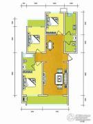 华普城3室2厅2卫138平方米户型图