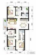 山海城邦・马街摩尔城4室2厅2卫172平方米户型图