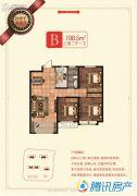 荣盛・锦绣兰庭3室2厅1卫0平方米户型图