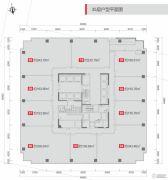 华润大厦2200平方米户型图