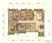 七彩云南第壹城4室2厅3卫184--189平方米户型图