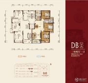 华府・伊顿庄园3室2厅1卫112--115平方米户型图