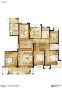 苏高新天之运5室2厅2卫193平方米户型图