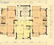 龙光・尚悦轩3室2厅2卫80--110平方米户型图