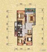 君悦国际3室2厅2卫0平方米户型图