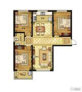 清山公爵城3室2厅1卫123平方米户型图