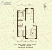 新城国际2室2厅1卫0平方米户型图