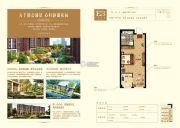 大悦城1室1厅1卫53平方米户型图