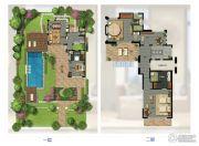 华凯南燕湾3室2厅4卫251平方米户型图
