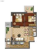 强佑・府学上院2室2厅1卫83平方米户型图